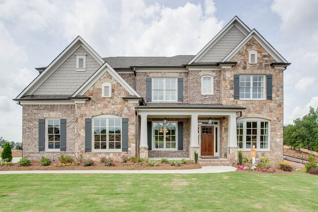 単一家族 のために 売買 アット Home South Communities The Brookwood 3489 Lily Magnolia Court Buford, Georgia 30519 United States