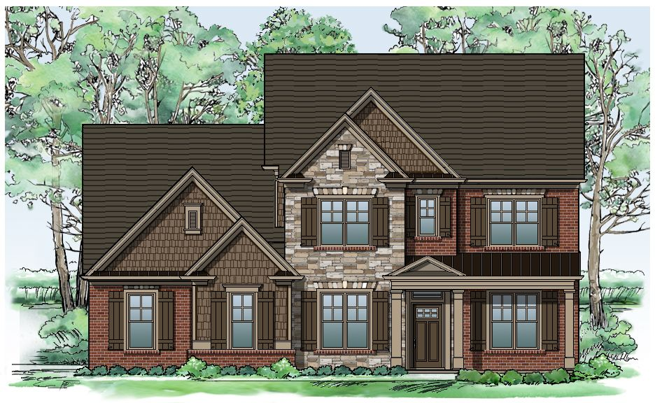 Single Family for Sale at Sterling On The Lake - Tipton Homebuilders The Bellwood 6507 Lemon Grass Lane Flowery Branch, Georgia 30542 United States