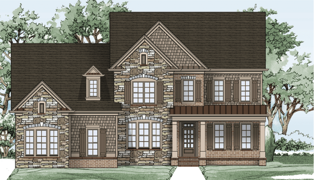 Single Family for Sale at Sterling On The Lake - Tipton Homebuilders The Brentwood 6507 Lemon Grass Lane Flowery Branch, Georgia 30542 United States