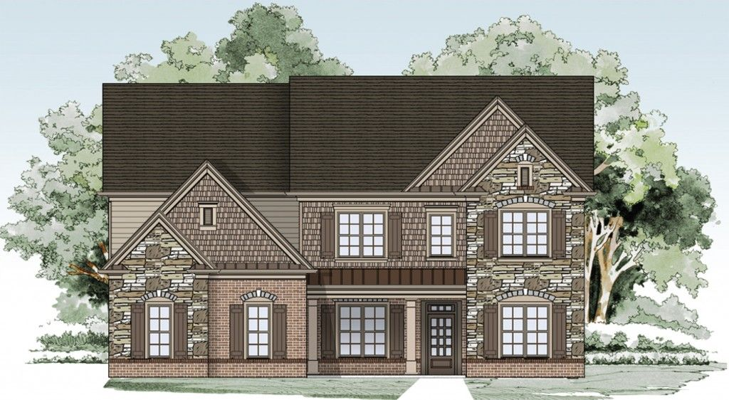 Single Family for Sale at Sterling On The Lake - Tipton Homebuilders The Jacobs Iii 6507 Lemon Grass Lane Flowery Branch, Georgia 30542 United States