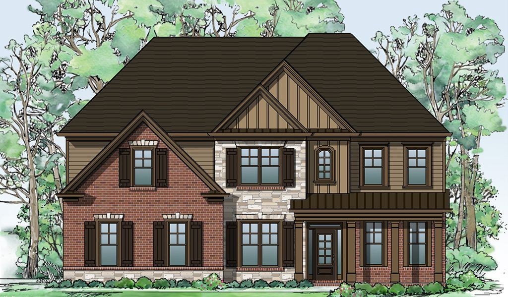 Single Family for Sale at Sterling On The Lake - Tipton Homebuilders The Westleigh 6507 Lemon Grass Lane Flowery Branch, Georgia 30542 United States