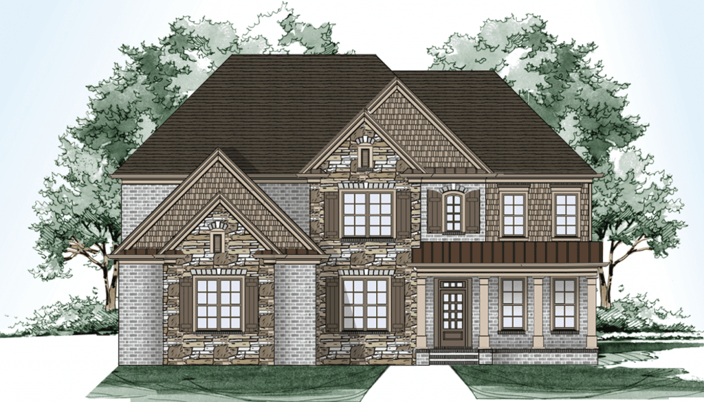 Single Family for Sale at Sterling On The Lake - Tipton Homebuilders The Westwood 6507 Lemon Grass Lane Flowery Branch, Georgia 30542 United States