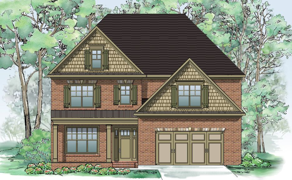Single Family for Sale at Arbor Cove - Silver Hill Homes The Callaway 3191 Sweetbay Magnolia Drive Marietta, Georgia 30062 United States