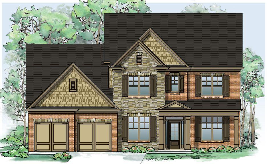Ενοικιάζεται για την Πώληση στο Blackwell Manor - Home South Communities Bellwood 290 Mullinax Road Alpharetta, Georgia 30004 United States