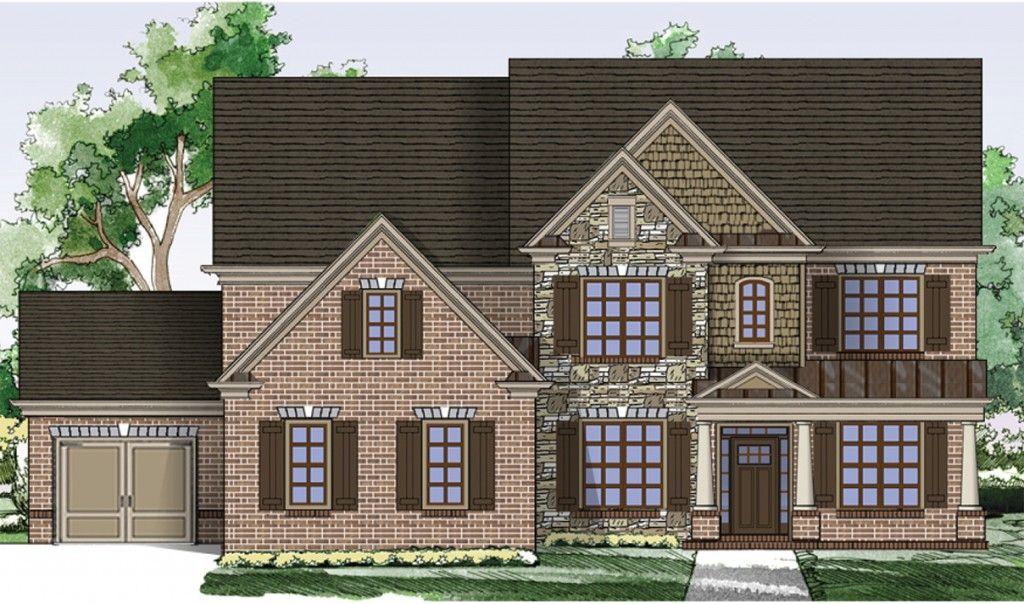 Famille unique pour l Vente à Oak Grove Manor - Home South Communities The Brookwood 2765 Oak Glen Manor Road Decatur, Georgia 30033 United States