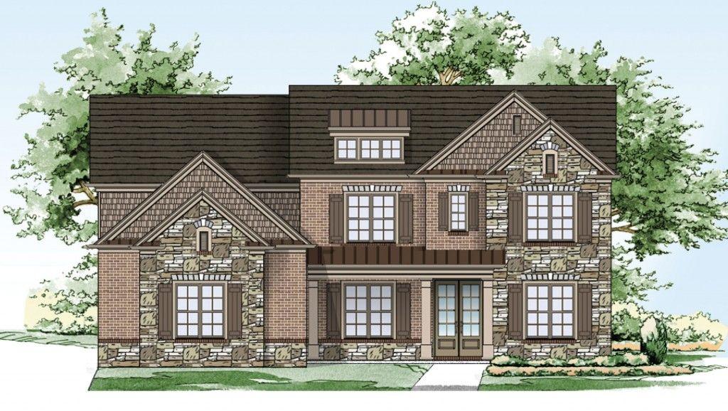 Famille unique pour l Vente à Oak Grove Manor - Home South Communities The Hawthorne 2765 Oak Glen Manor Road Decatur, Georgia 30033 United States