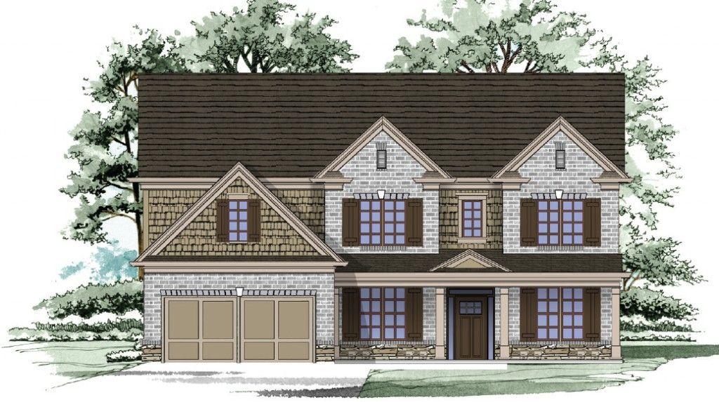 Famille unique pour l Vente à Oak Grove Manor - Home South Communities The Hillgrove Ii 2765 Oak Glen Manor Road Decatur, Georgia 30033 United States