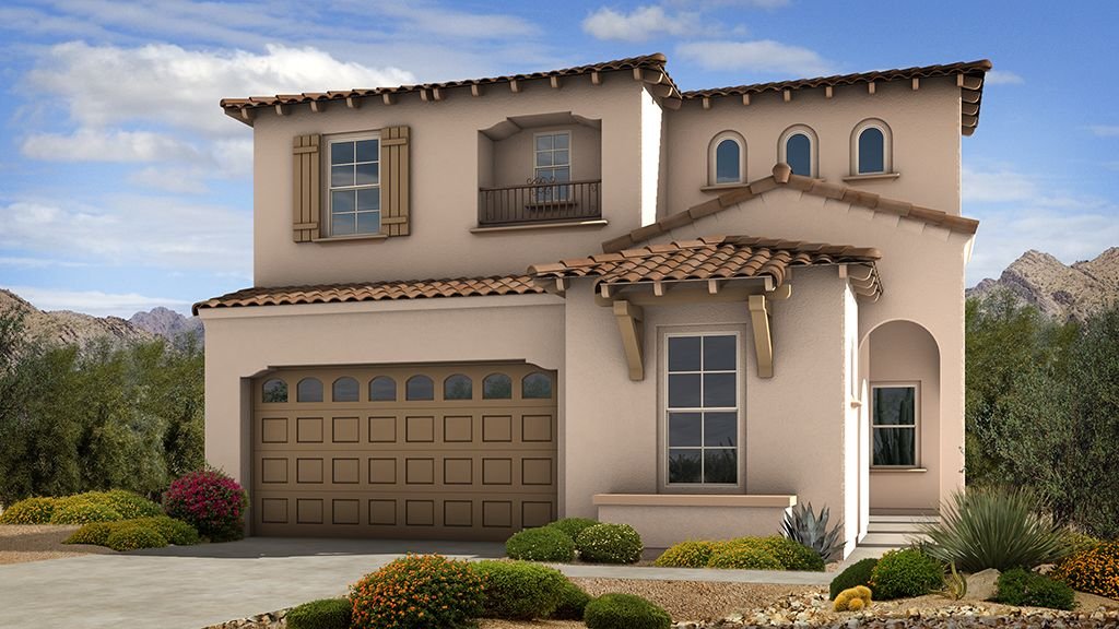 Single Family for Sale at Sanctuary At Desert Ridge Discovery Collection - Azelia 4637 E. Walter Way Phoenix, Arizona 85050 United States