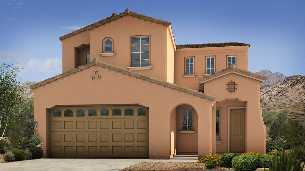 Single Family for Sale at Sanctuary At Desert Ridge Discovery Collection - Holly 4637 E. Walter Way Phoenix, Arizona 85050 United States