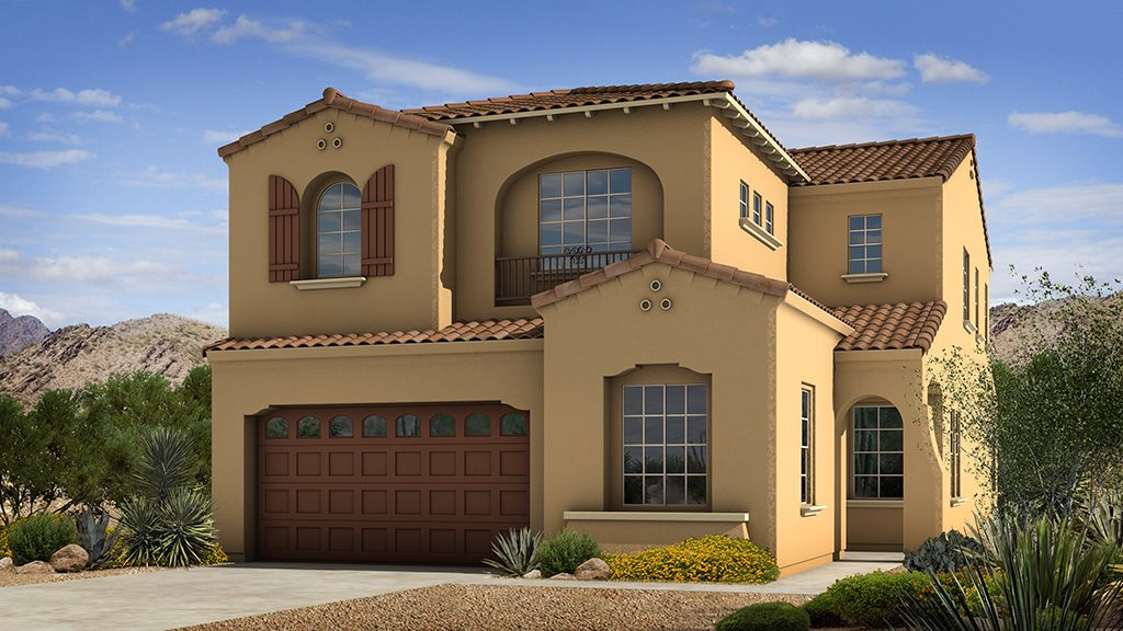 Single Family for Sale at Sanctuary At Desert Ridge Discovery Collection - Marigold 4637 E. Walter Way Phoenix, Arizona 85050 United States