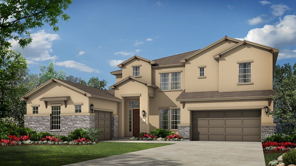 Unifamiliar por un Venta en Travisso Naples Collection - Cypress 3921 Veneto Circle Leander, Texas 78641 United States