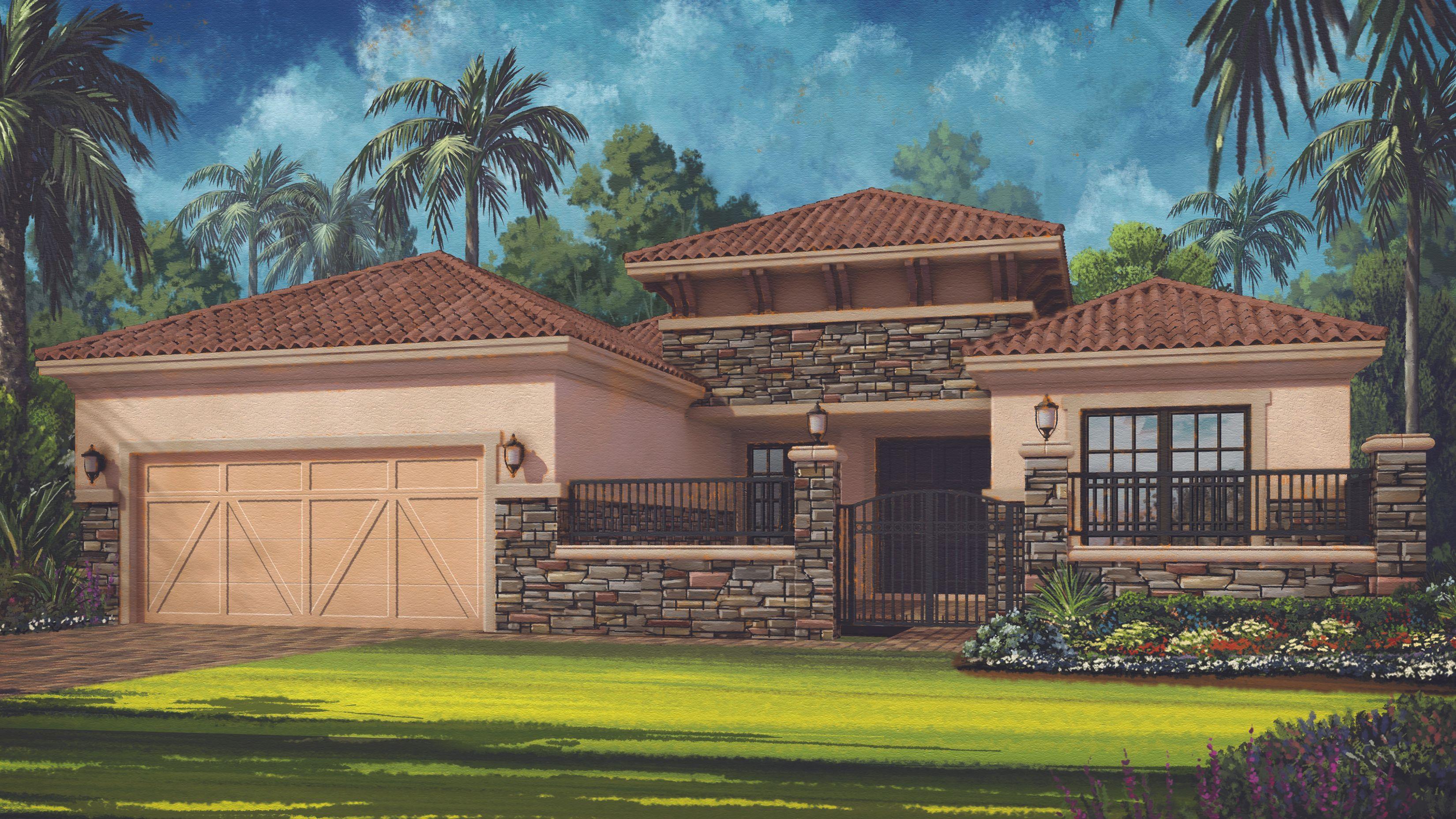 Bella casa cobblestone on palmer ranch an esplanade for Casa bella homes