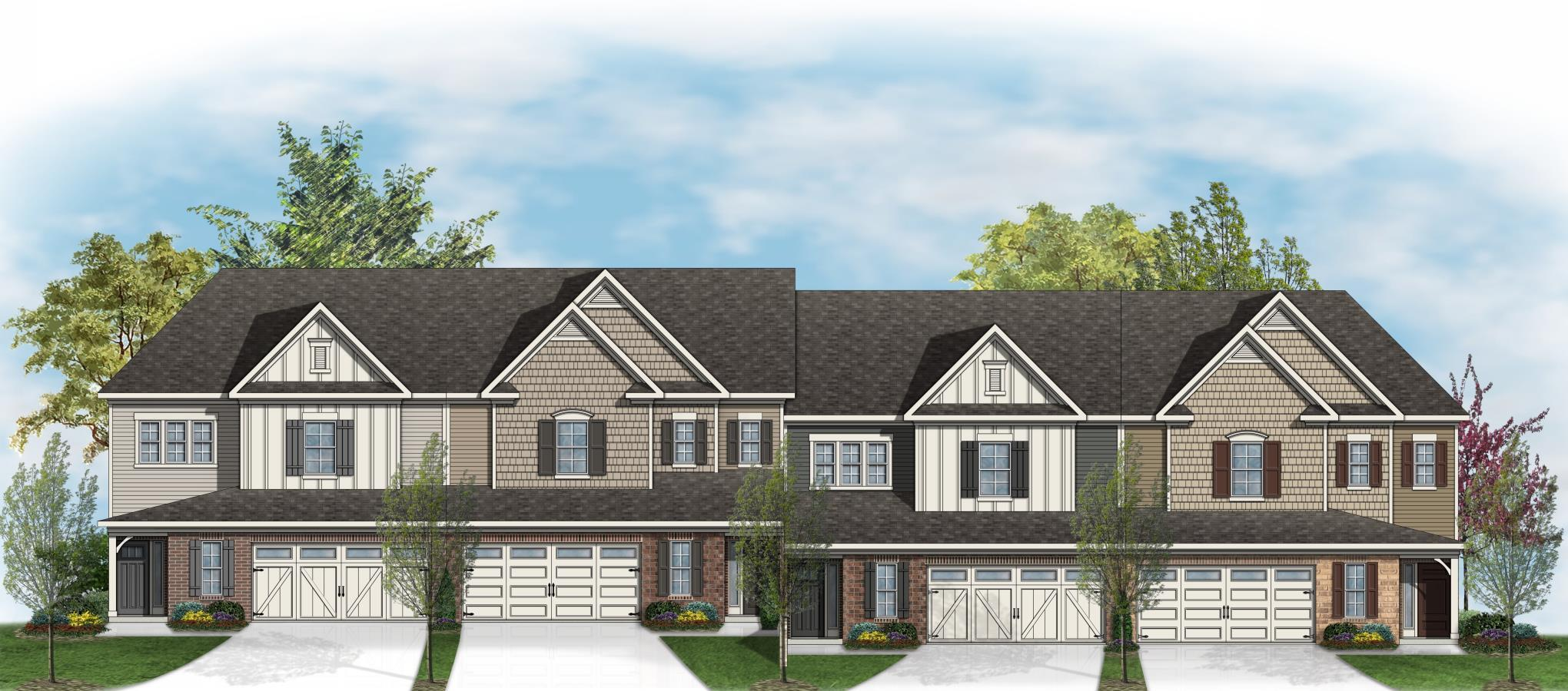 Preserve at white oak luxury townhome collection new homes for Luxury townhome plans