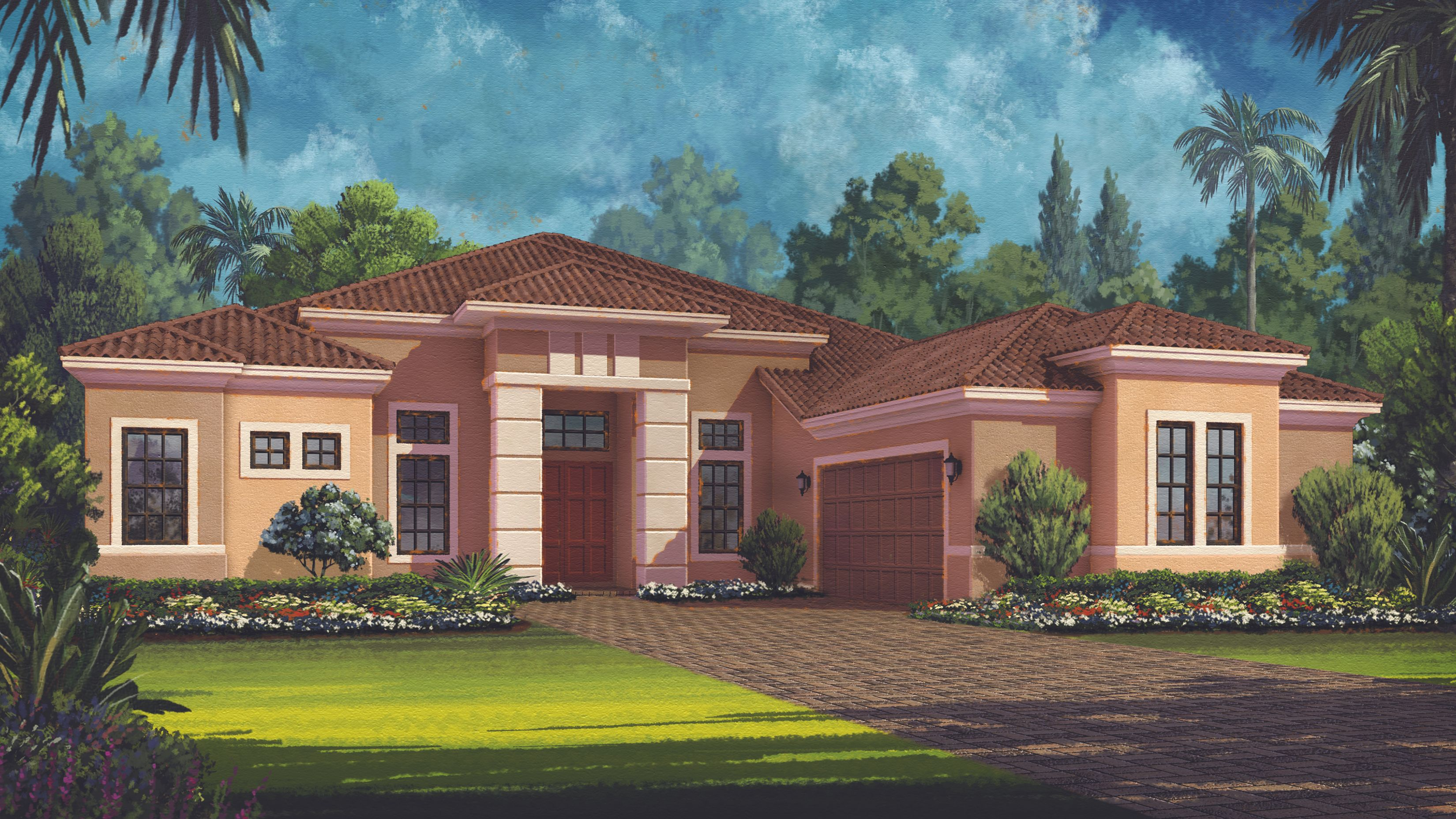Single Family for Active at Mercede 4729 Benito Court Lakewood Ranch, Florida 34211 United States