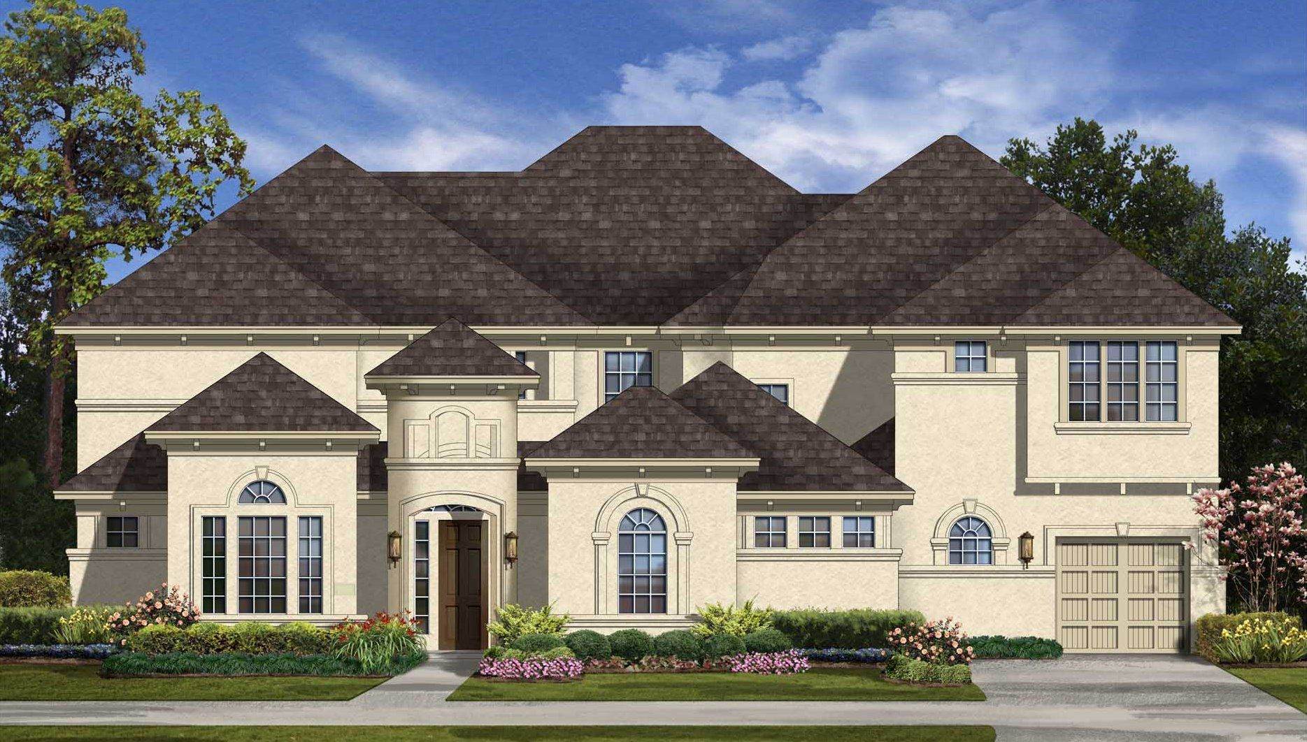Single Family for Active at Positano 2834 Rainflower Meadow Lane Katy, Texas 77494 United States