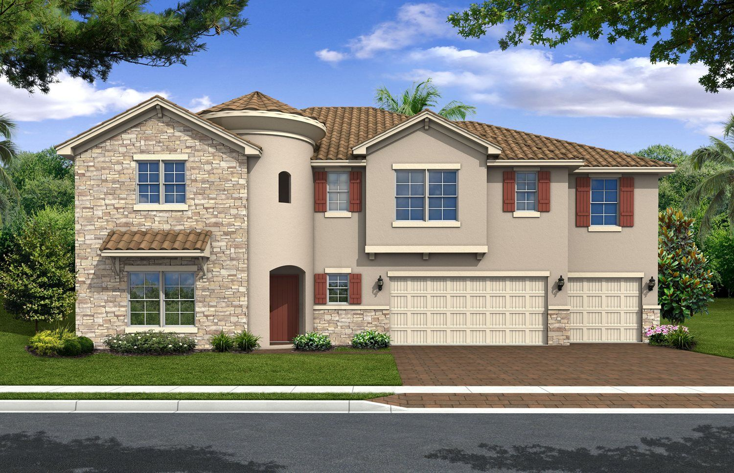 Single Family for Active at Valentina 1661 Gateway Lane Kissimmee, Florida 34746 United States