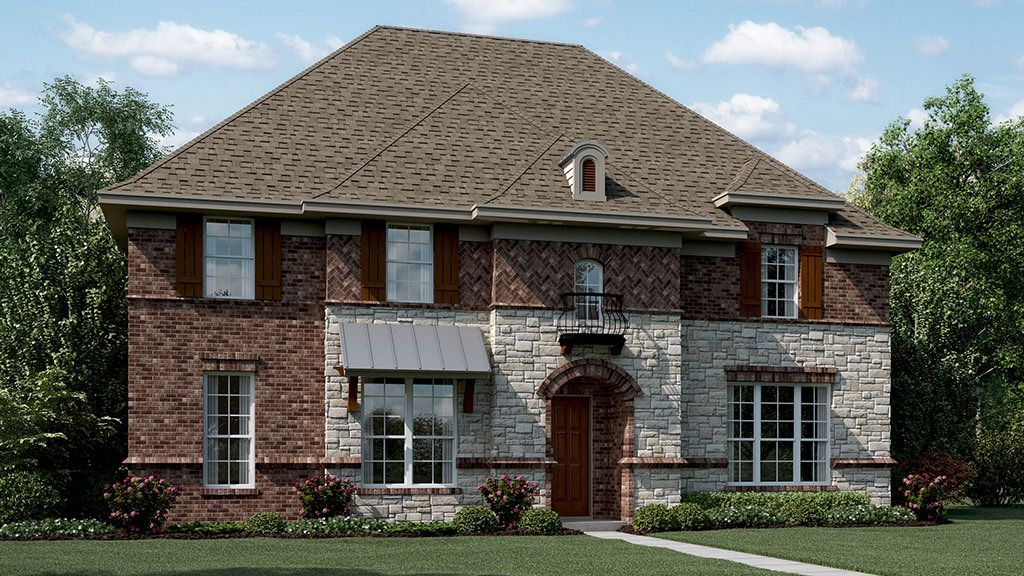 Single Family for Active at Mercer Crossing - Bryson 1791 Bramshaw Trail Farmers Branch, Texas 75234 United States