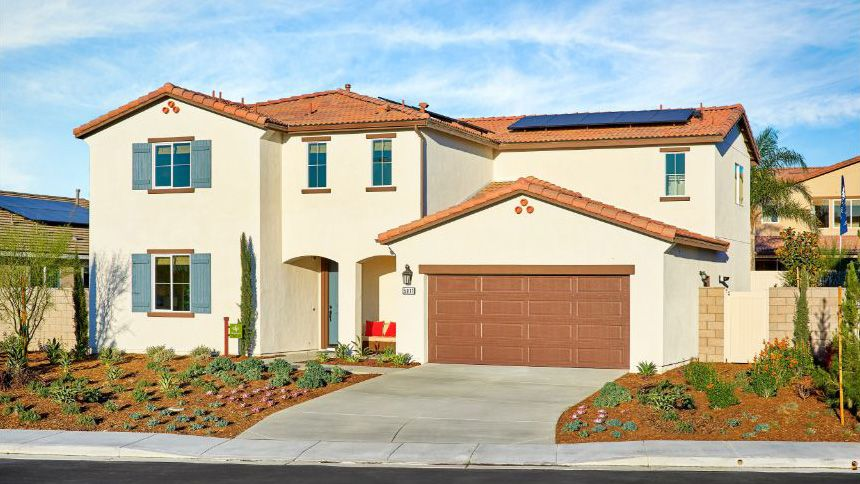 Multi Family for Active at The Cameos At Turnleaf - Residence 2 Wlh 4999 Crocus Court Jurupa, California 91752 United States