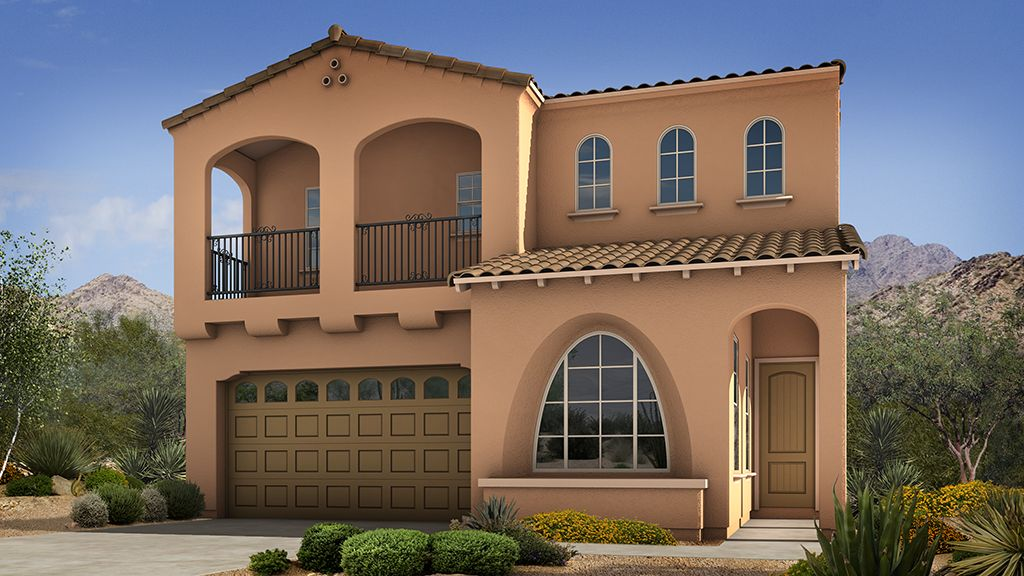 Single Family for Sale at Sanctuary At Desert Ridge Discovery Collection - Calico 4637 E. Walter Way Phoenix, Arizona 85050 United States