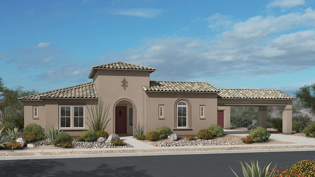 Single Family for Sale at Andaluza Capstone Collection - Tesoro Sales From Copper Sky Model Scottsdale, Arizona 85266 United States