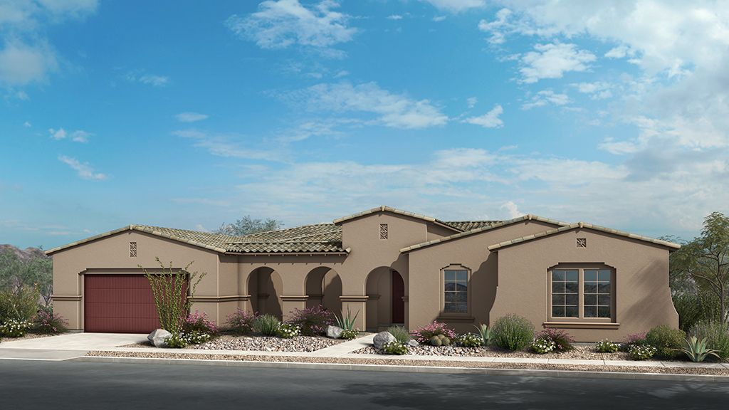 Single Family for Sale at Andaluza Capstone Collection - Sierra Sales From Copper Sky Model Scottsdale, Arizona 85266 United States
