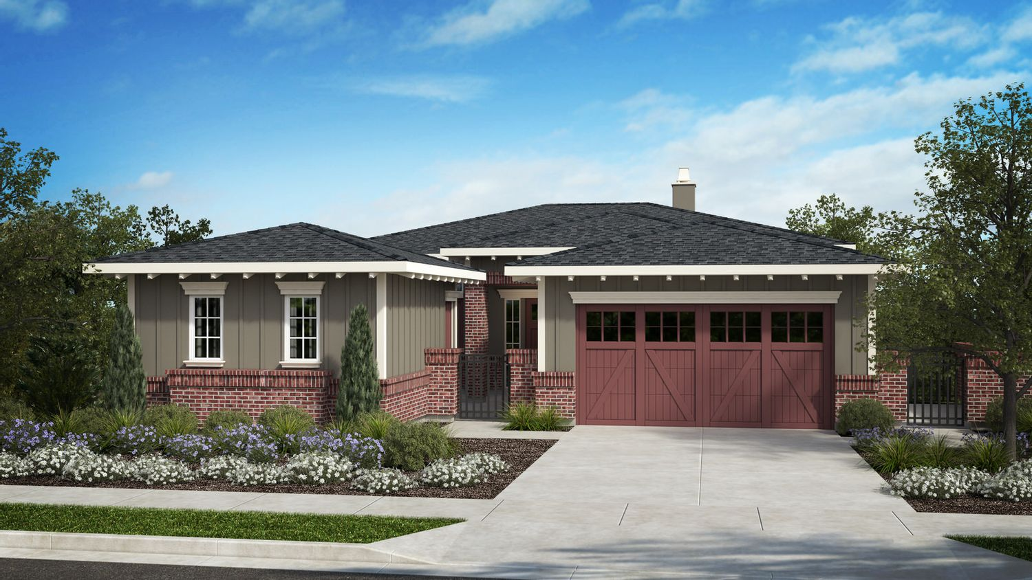 Single Family for Active at Wilder In Orinda - Residence 10f Plan 12 Wilder Road Orinda, California 94563 United States