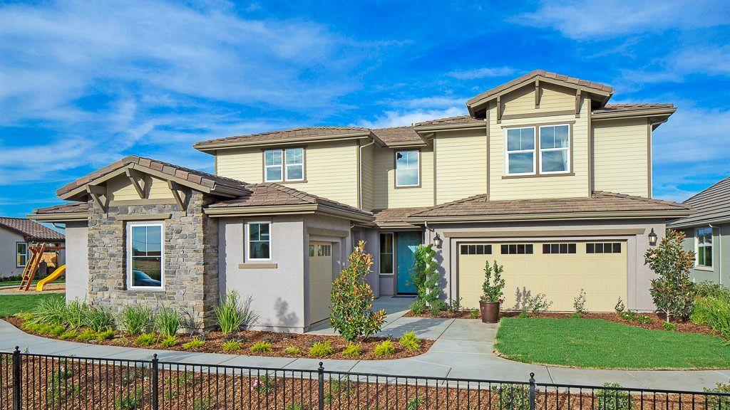 单亲家庭 为 销售 在 Madeira East - Viana Iii - Sawyer Plan 9969 Lousada Drive Elk Grove, California 95757 United States
