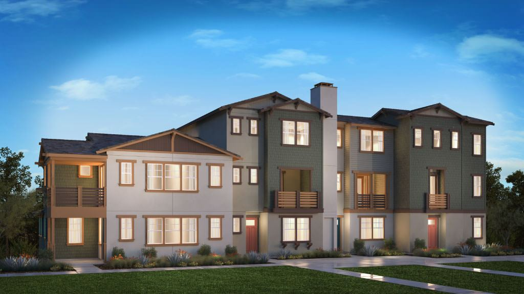 Multi Family for Active at Vintage At Old Town Tustin - Hudson Plan 3 Plan 1208 Bellmont Court Tustin, California 92780 United States