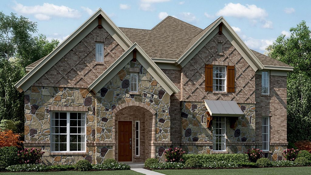 Single Family for Active at Mercer Crossing - Biltmore 1791 Bramshaw Trail Farmers Branch, Texas 75234 United States