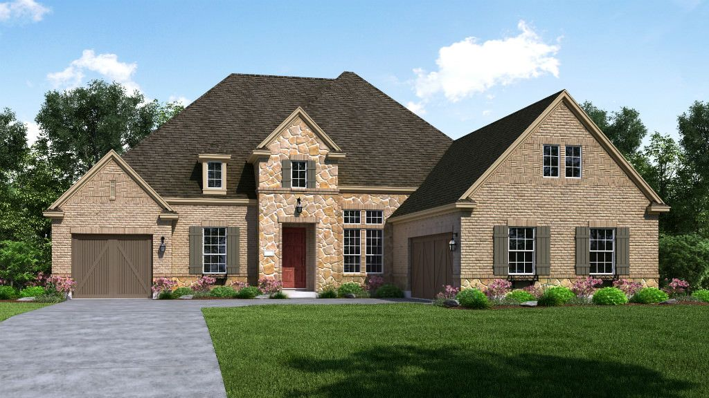 Single Family for Active at Waterford Point At The Tribute - Britton 7825 Kentmere Drive The Colony, Texas 75056 United States