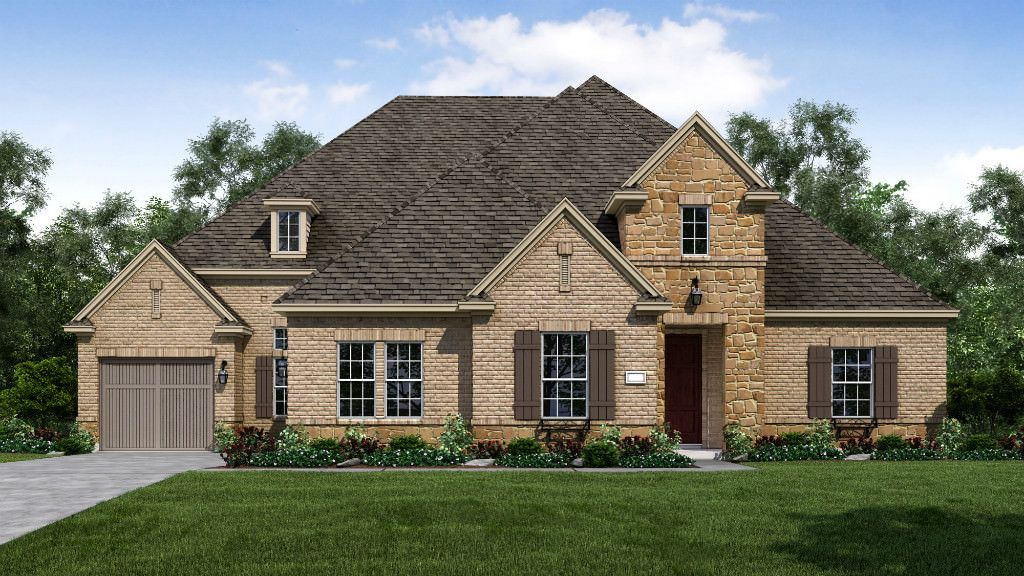 Single Family for Active at Waterford Point At The Tribute - Kerrington 7825 Kentmere Drive The Colony, Texas 75056 United States