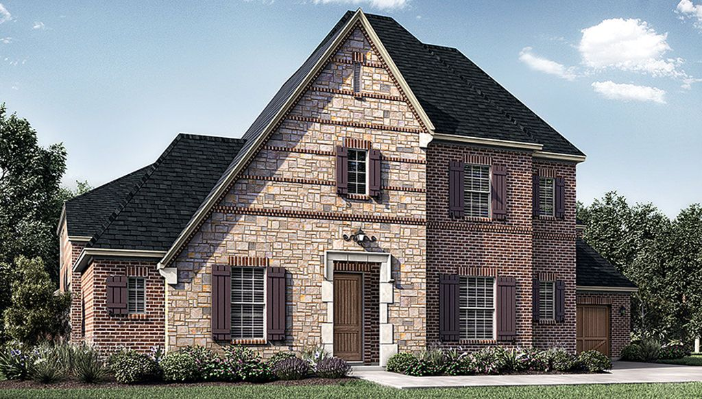 Single Family for Active at Montgomery Farm Estates 90s - 2843 Plan 808 Brett Drive Allen, Texas 75013 United States