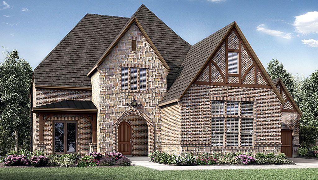 Single Family for Active at Montgomery Farm Estates 90s - 8091 Plan 808 Brett Drive Allen, Texas 75013 United States