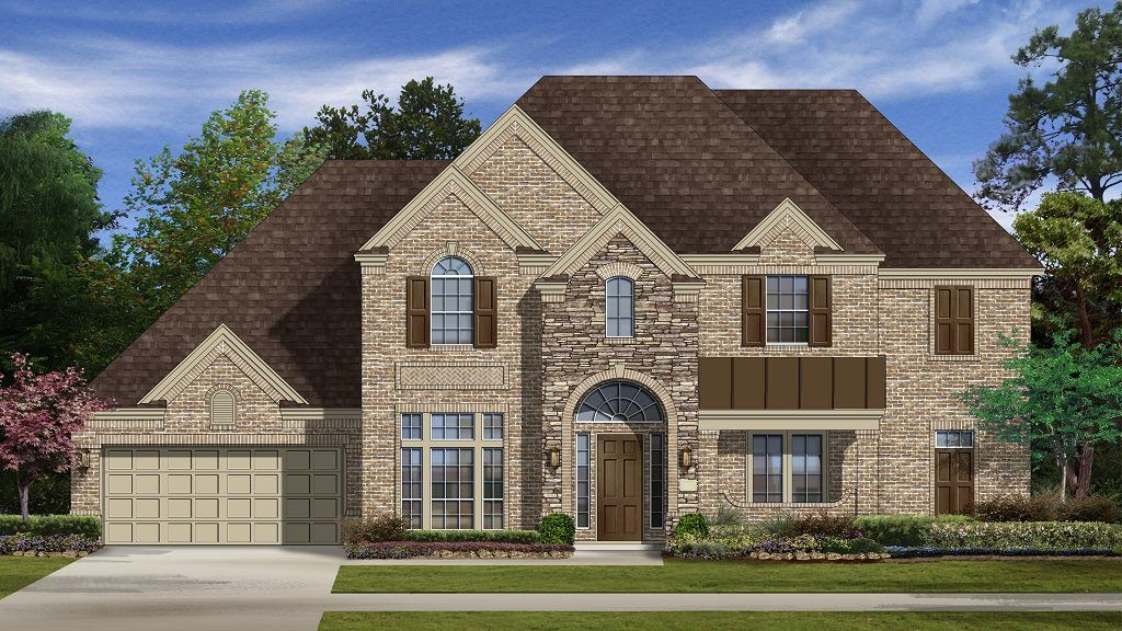 Single Family for Active at Avalon At Riverstone 80s - Milano Plan 6107 Imlay Cove Court Sugar Land, Texas 77479 United States