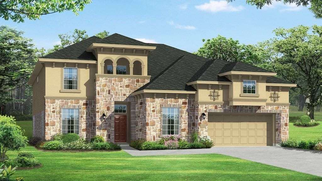 Single Family for Active at Avalon At Riverstone 80s - Lexington Plan 6107 Imlay Cove Court Sugar Land, Texas 77479 United States