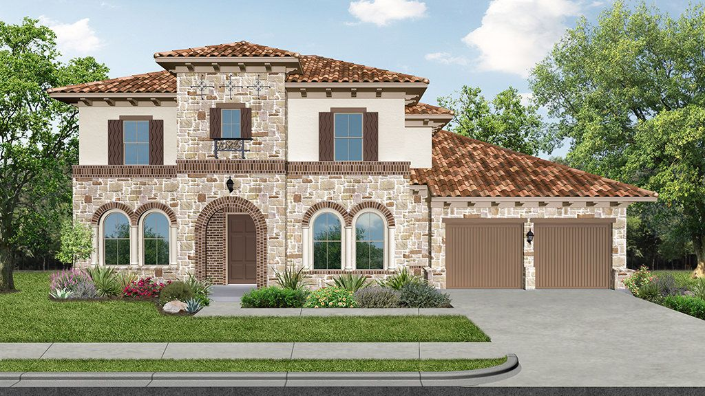 Single Family for Active at Elyson 70s - 7445 23603 Dovetail Meadow Lane Katy, Texas 77493 United States