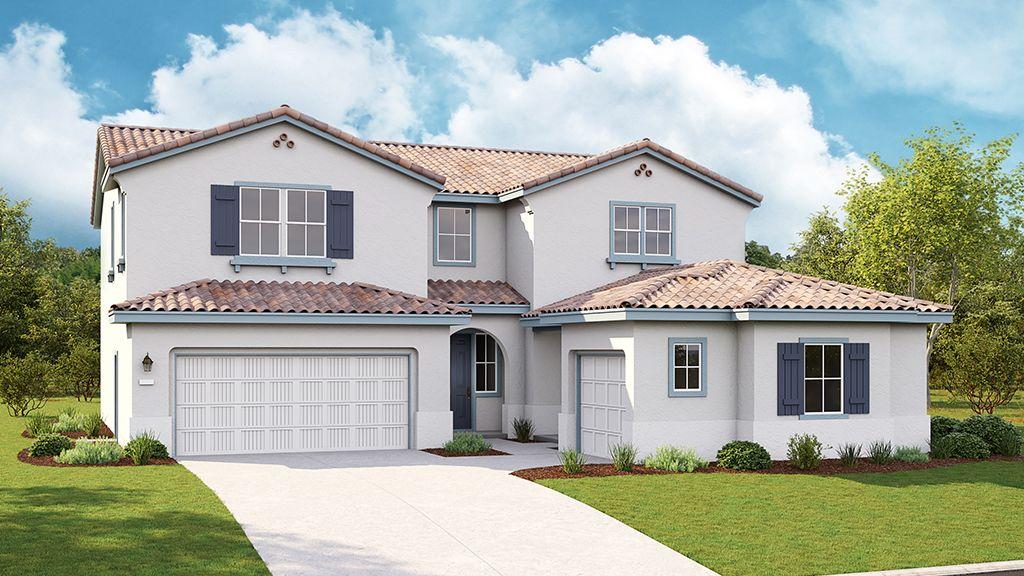 单亲家庭 为 销售 在 Sevilla At Madeira Meadows - Plan 6 Sawyer 9969 Lousada Drive Elk Grove, California 95757 United States