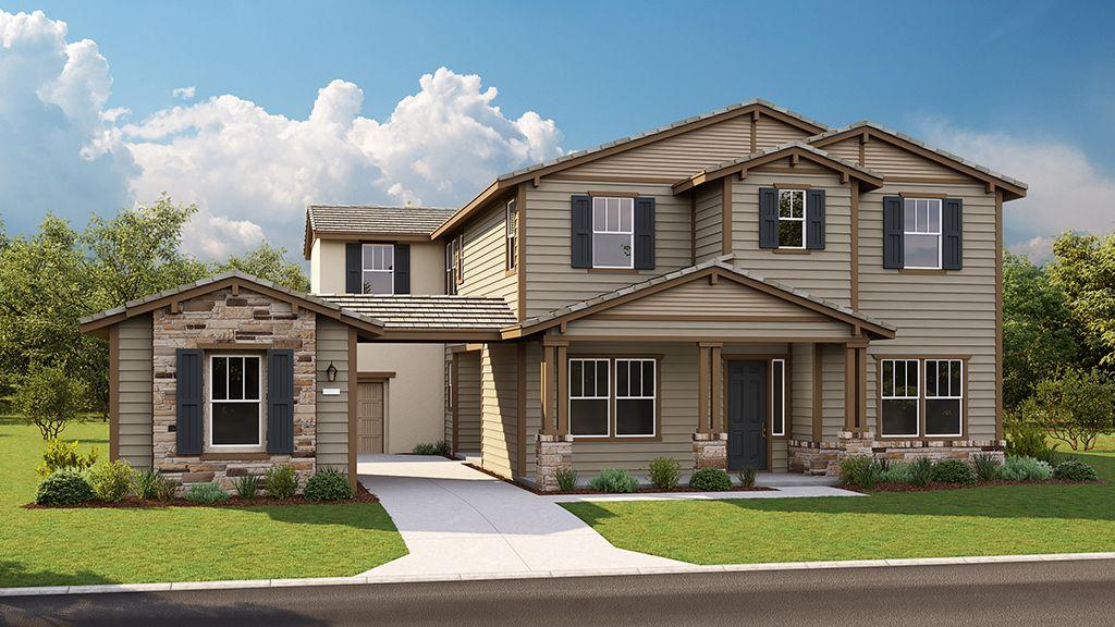 单亲家庭 为 销售 在 Valencia At Madeira Meadows - Drake Plan 10 9968 Lousada Drive Elk Grove, California 95757 United States