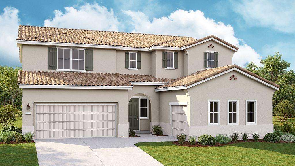 单亲家庭 为 销售 在 Valencia At Madeira Meadows - Chandler Plan 9 9968 Lousada Drive Elk Grove, California 95757 United States