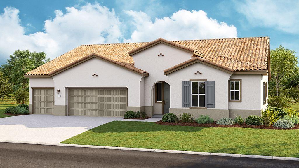 单亲家庭 为 销售 在 Valencia At Madeira Meadows - Madison Plan 8 9968 Lousada Drive Elk Grove, California 95757 United States