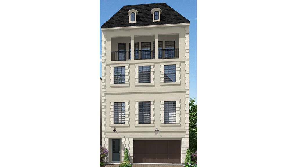 Single Family for Active at The Woodlands, East Shore - 13614 - 4 Story 4 Vue Cove Drive The Woodlands, Texas 77380 United States