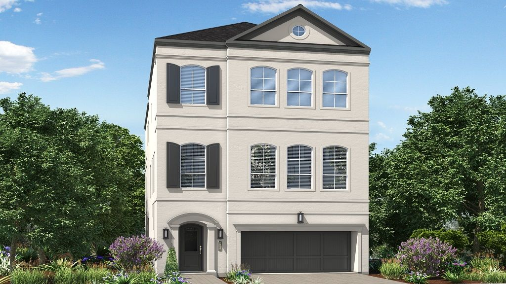 Single Family for Active at The Woodlands, East Shore - 1341 - 3 Story 4 Vue Cove Drive The Woodlands, Texas 77380 United States