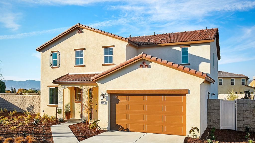 Single Family for Active at The Cameos At Turnleaf - Residence 5 Wlh 4999 Crocus Court Jurupa, California 91752 United States