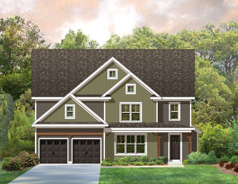 Terramor Homes Richmond Park At Grandale Crosby 1304614 Raleigh Nc New Home For Sale