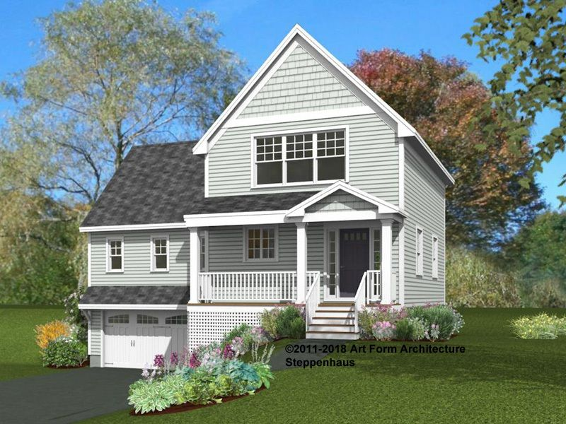 Single Family for Sale at Rockingham Green - Steppenhaus 200 Exeter Rd. Newmarket, New Hampshire 03857 United States