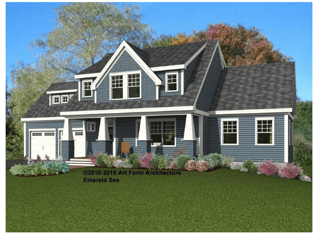 Single Family for Sale at Sewall Meadow - Emerald Sea Classic With Wings 400 Breakfast Hill Road Greenland, New Hampshire 03840 United States