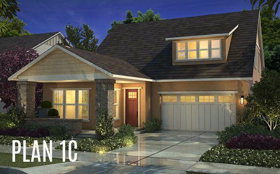 单亲家庭 为 销售 在 Cottonwood At Mckinley Village - Plan 1 3317 Mckinley Village Way Sacramento, California 95816 United States