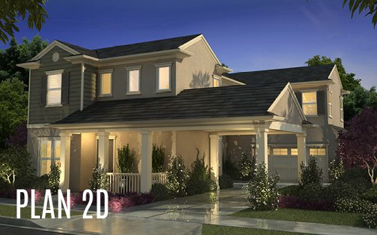 单亲家庭 为 销售 在 Cottonwood At Mckinley Village - Plan 2 3317 Mckinley Village Way Sacramento, California 95816 United States