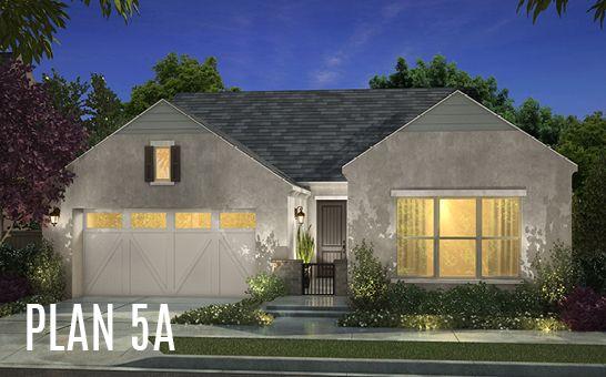 单亲家庭 为 销售 在 Cottonwood At Mckinley Village - Plan 5 3317 Mckinley Village Way Sacramento, California 95816 United States