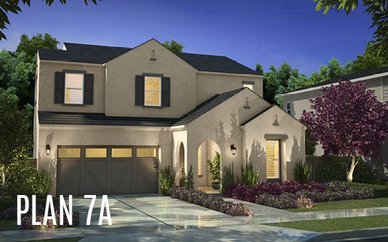Single Family for Active at Cottonwood At Mckinley Village - Plan 7 3317 Mckinley Village Way Sacramento, California 95816 United States